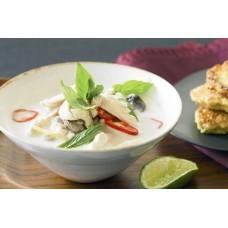 Thai Chicken Coconut Soup (Tom Kha Gai)