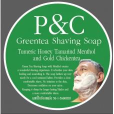 P&C Shaving Soap - Green Tea with Menthol